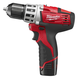 Factory Reconditioned Milwaukee 2410-82 M12 12V Cordless Lithium-Ion 3/8 in. Drill Driver