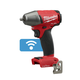 Milwaukee 2758-20 M18 FUEL 18V Cordless Lithium-Ion 3/8 in. Compact Impact Wrench with Friction Ring & ONE-KEY Connectivity (Bare Tool)