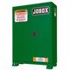 JOBOX 1-850670 12 Gallon Heavy-Duty Safety Cabinet (Green)