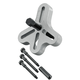 OTC Tools & Equipment 7912 GM Crankshaft Balancer Puller Kit and Adapter Set