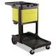 Rubbermaid 6181YEL Locking Cabinet (Yellow) for Rubbermaid Commercial Cleaning Carts