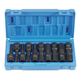 Grey Pneumatic 1498MH 10-Piece 1/2 in. Drive Metric Hex Driver Socket Set