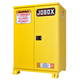 JOBOX 1-857990 45 Gallon Heavy-Duty Self-Closing Safety Cabinet (Yellow)