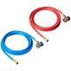 FJC 6448 R134a 10 ft. Hose Set with Manual Couplers