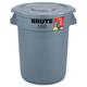 Rubbermaid 863292GRA 32 Gal. Brute All-Inclusive Container (Gray)
