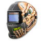Titan 41279 Solar Powered Auto Dark Welding Helmet (Skull)