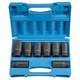 Grey Pneumatic 8034D 8-Piece 3/4 in. Drive 6-Point SAE Deep Impact Socket Set