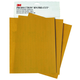 3M 2549 Production Resinite Gold Sheet 9 in. x 11 in. P80A (50-Pack)