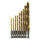 Bosch TI9IM 9-Piece Impact Tough Titanium Drill Bit Set