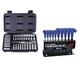 ATD 1200H 44-Piece 1/4 in. Drive 6-Point SAE & Metric Pro Socket Set w/FREE 10-Piece Metric T-Handle Hex Key Set