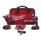 Factory Reconditioned Milwaukee 2795-82CT M18 FUEL 18V Cordless 3/8 in. Lithium-Ion Impact Wrench with Friction Ring and Work Light Combo Kit