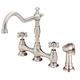 Danze D404557SS Opulence Deck Mount Kitchen Faucet (Stainless Steel)