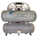 California Air Tools CAT-4610ALFC 1 HP 4.6 Gallon Ultra Quiet Aluminum Twin Tank Air Compressor