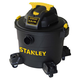 Stanley SL18191P 4.0 Peak HP 10 Gallon Portable Poly Wet Dry Vac with Casters