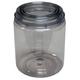 EZ Mix 10032 E-Z View Clear Plastic Paint Can Quart
