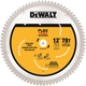 Dewalt DWAFV31278 12 in. 78T Miter Saw Blade
