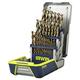 Irwin 3018002 29 Piece Cobalt M-35 Metal Index Drill Bit Set