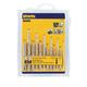 Irwin Hanson 80187 13-Piece Tap & Drill Bit Set 4-40 NC to 1/4 in.-20 NC
