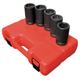 Sunex Tools 5626 5-Piece 1 in. Drive Combination Budd Wheel Impact Socket Set