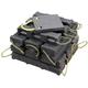 AME International 15230 Super Stacker Cribbing Block 6 in. x 7 in. x 24 in. (Black)