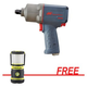 Ingersoll Rand 2235TIMAXSG 1/2 in. Drive Air Impact Wrench with Streamlight The Siege AA Magnetic Base Work Lantern