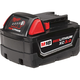 Milwaukee 48-11-1828 M18 XC 18V 3 Ah High Capacity REDLITHIUM Lithium-Ion Battery