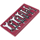 ATD 1180 10-Piece Stubby Wrench Set Metric