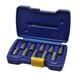 Irwin Hanson 53226 10-Piece Hex Head Multi-Spline Screw Extractor Set
