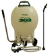 Sprayers Plus 302 4 Gallon Pro Farm & Garden Backpack Sprayer with External Piston Pump