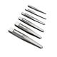 Irwin Hanson 53645 6-Piece Straight Flute Screw Extractor Set