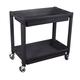 ATD 7016 2-Shelf Heavy-Duty Plastic Utility Cart