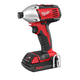 Milwaukee 2650-21 M18 18V Cordless 1/4 in. Lithium-Ion Compact Impact Driver Kit
