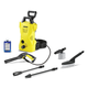 Karcher 1.602-315.0 1,600 PSI 1.25 GPM Compact Electric Pressure Washer with Car Care Kit