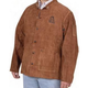 Steiner 9215-L Brown Leather Welding Jacket (Large)