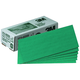 3M 2225 Green Corps Production Resin Sheet 3-2/3 in. x 9 in. 80D (100-Pack)