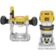 Factory Reconditioned Dewalt DWP611PKR Premium Compact Router Fixed/Plunge Combo Kit