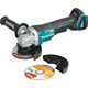 Makita XAG10Z 18V LXT BL Brushless Lithium-Ion  4-1/2 in. Paddle Switch Cut-Off/Angle Grinder (Bare Tool)