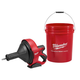 Milwaukee 2571-20 M12 Cordless Lithium-Ion Drain Snake with Bucket (Bare Tool)