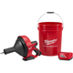 Milwaukee 2571-21 M12 Cordless Lithium-Ion Drain Snake Kit with Bucket