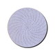 3M 18100 6 in. P500C Purple Clean Sanding Hookit Disc (50-Pack)
