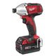 Milwaukee 2650-22 M18 18V Cordless 1/4 in. Lithium-Ion Compact Impact Driver Kit