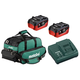 Metabo US625342002 18V 2X 5.5 Ah LiHD Ultra-M Pro Kit