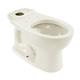TOTO C743E-11 Drake Round Floor Mount Toilet Bowl (Colonial White)
