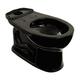 TOTO C743E-51 Drake Round Floor Mount Toilet Bowl (Ebony)