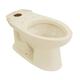 TOTO C744E-12 Drake Elongated Floor Mount Toilet Bowl (Sedona Beige)