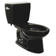 TOTO CST744S-51 Drake Elongated 2-Piece Floor Mount Toilet (Ebony)