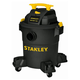 Stanley SL18116P 4.0 Peak HP 6 Gallon Portable Poly Wet Dry Vac with Casters