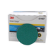 3M 1407 3 in. 36 Grade Green Corps Roloc Disc (25-Pack)