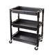 ATD 7017 3-Shelf Heavy-Duty Plastic Utility Cart