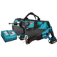 Makita LXT221 LXT 18V Cordless Lithium-Ion 1/2 in. Hammer Drill and Reciprocating Saw Combo Kit